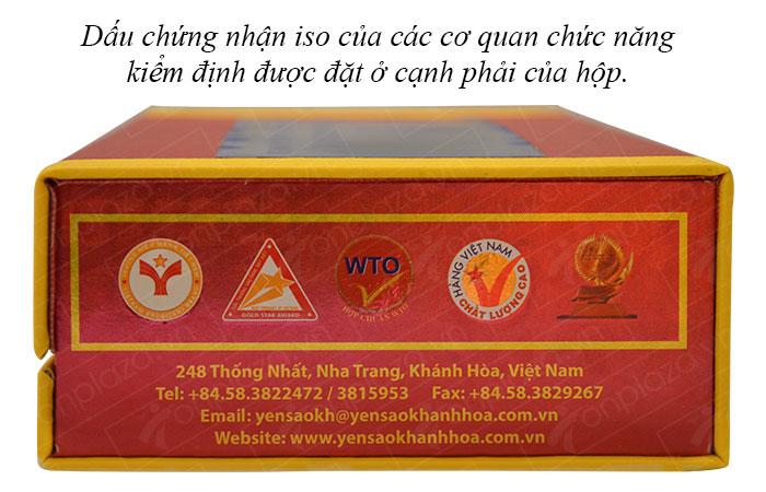 Tổ yến huyết nguyên chiếc Khánh Hòa 100g(024) cao cấp Y007 2