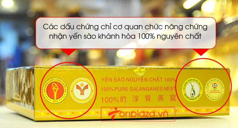 Tổ yến sào trắng tinh chế 50g(H015) Khánh Hòa Y013 6