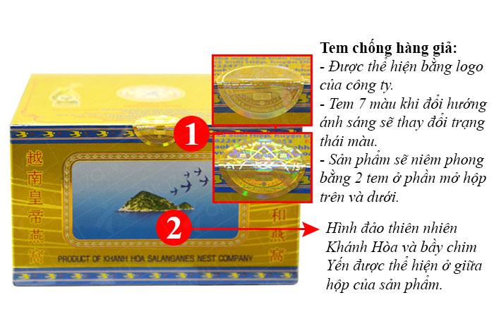 Tổ yến trắng tinh chế 5g(H012) Khánh Hòa Y015 2