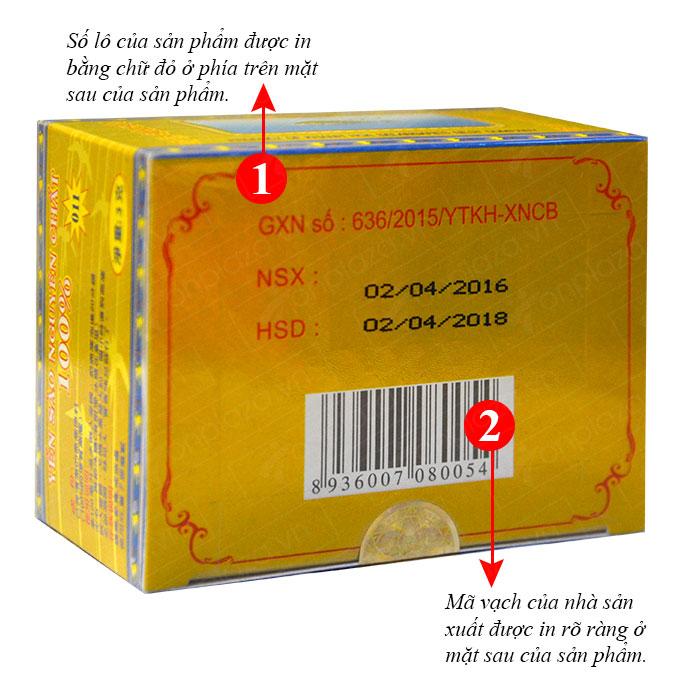 Tổ yến trắng tinh chế 5g(H012) Khánh Hòa Y015 3