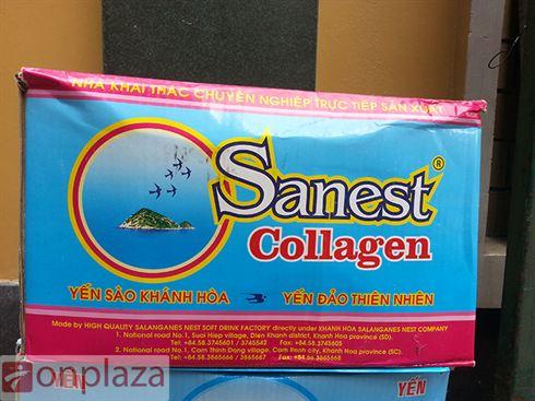 thung nuoc yen sanest collagen Khanh Hoa,  nuoc yen sao collagen bo duong dep da,