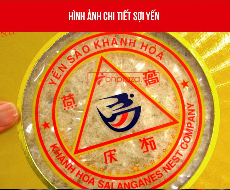 Tổ yến sào trắng tinh chế 100g(H014) Khánh Hòa Y014 5