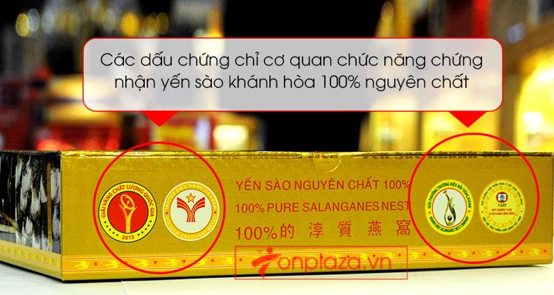 Tổ yến sào trắng tinh chế 100g(H014) Khánh Hòa Y014 6