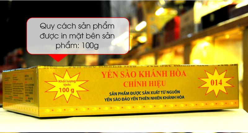 Tổ yến sào trắng tinh chế 100g(H014) Khánh Hòa Y014 7