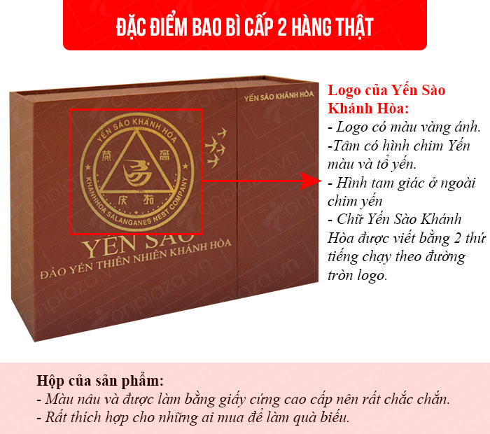 Yến sào tinh chế Khánh Hòa hộp quà tặng 50g(H015G) Y018 1
