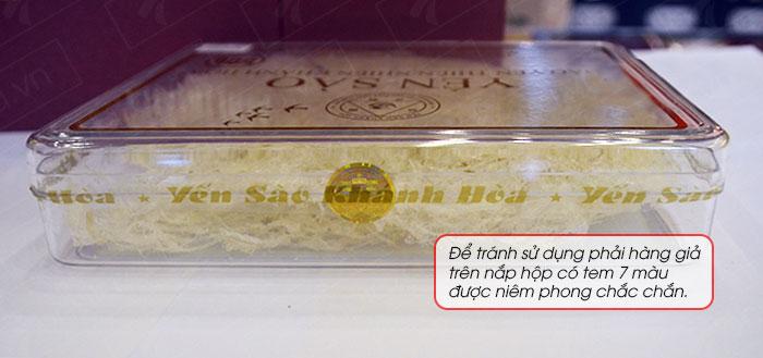 Yến sào tinh chế Khánh Hòa hộp quà tặng 50g(H015G) Y018 8