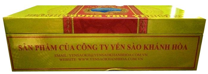Bánh trung thu Yến sào Khánh Hòa 2 chiếc Sanest 1