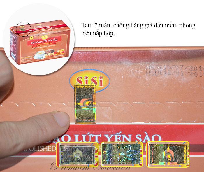 Bột gạo lứt yến sào SiSi Y083 2
