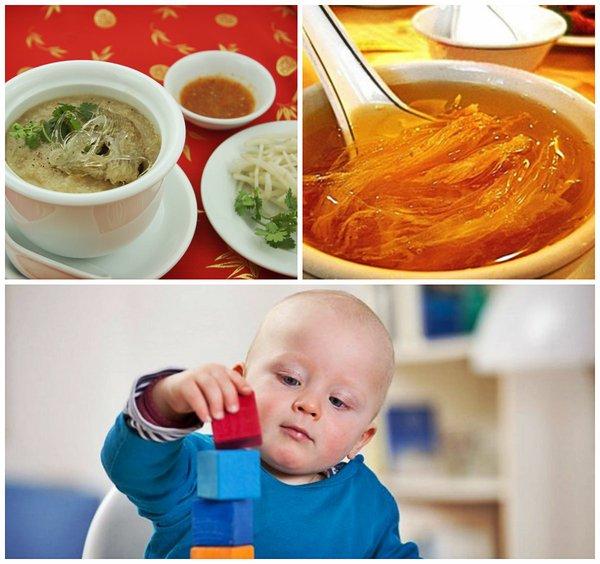 yến sào là thực phẩm tốt cho sự phát triển của trẻ