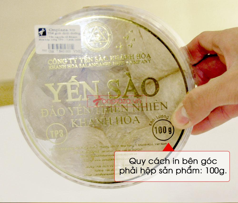 Tổ yến trắng sơ chế 100g (TP3) Khánh Hòa Y003 11