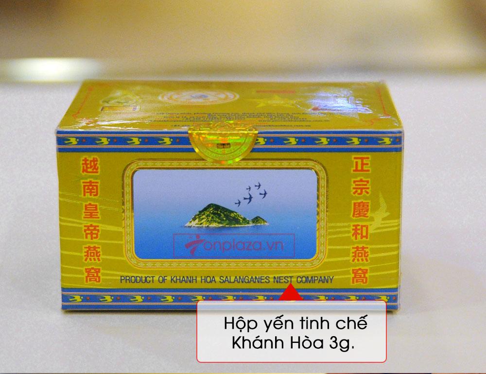 Tổ yến trắng sơ chế 100g (TP3) Khánh Hòa Y003 12