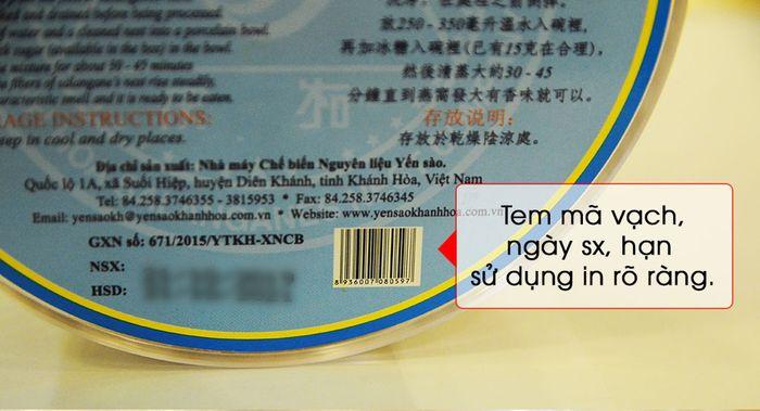 Tổ yến trắng sơ chế 100g (TP1) 100% từ tự nhiên Y001 11