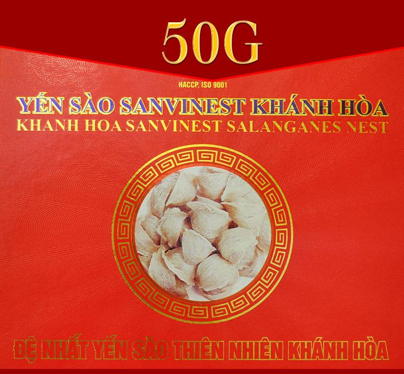 Yến sào sơ chế Sanvinet Khánh Hòa (hộp 50g) Y146 1