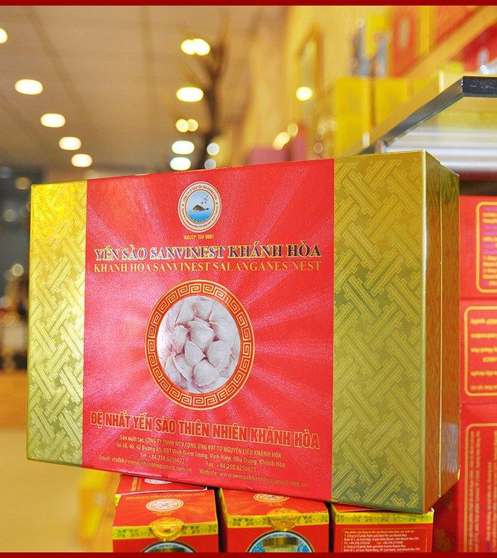 Yến sào sơ chế Sanvinet Khánh Hòa (hộp 50g) Y146 2