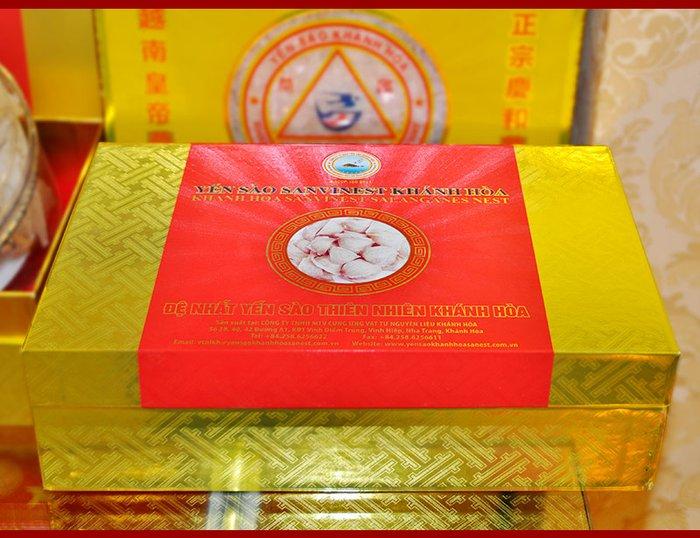 Yến sào sơ chế Sanvinet Khánh Hòa (hộp 50g) Y146 3