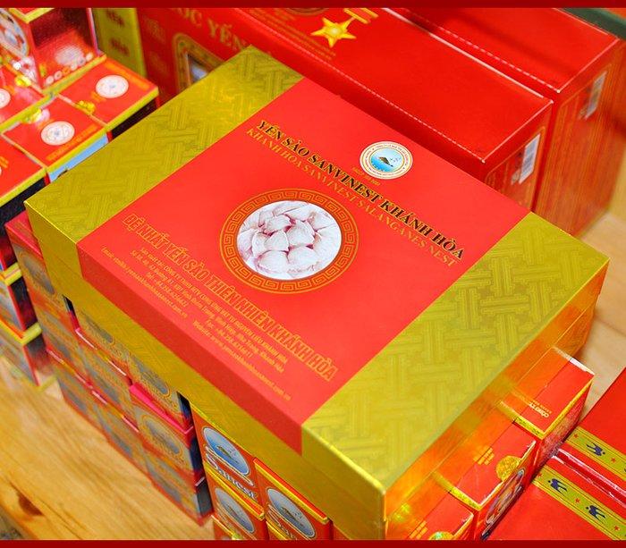Yến sào sơ chế Sanvinet Khánh Hòa (hộp 50g) Y146 4