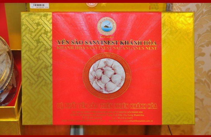 Yến sào sơ chế Sanvinet Khánh Hòa (hộp 50g) Y146 7