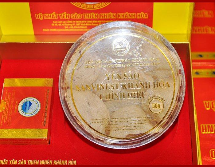 Yến sào sơ chế Sanvinet Khánh Hòa (hộp 50g) Y146 10