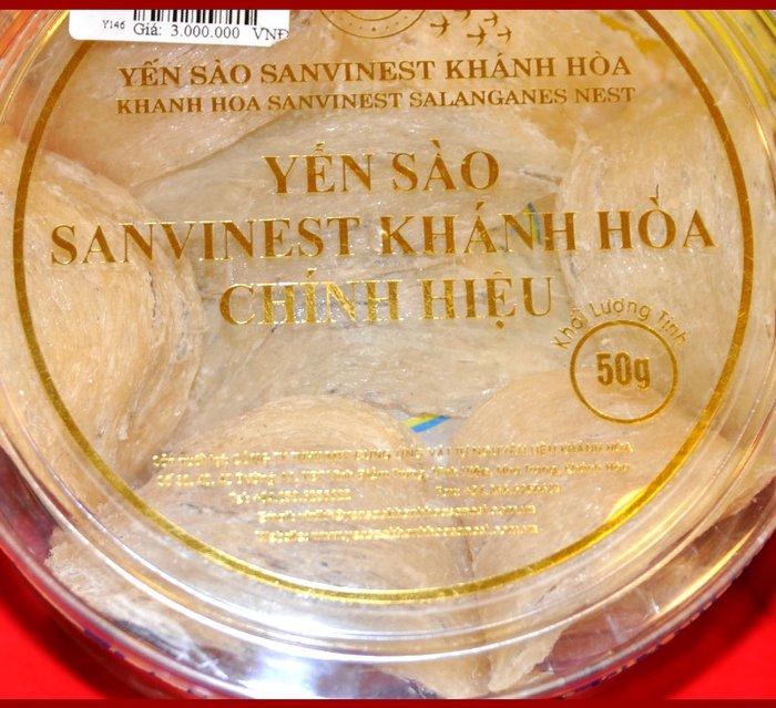 Yến sào sơ chế Sanvinet Khánh Hòa (hộp 50g) Y146 11
