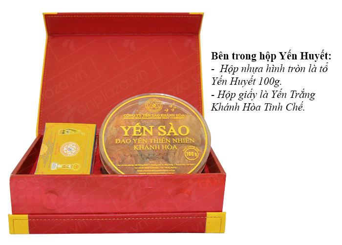 Tổ yến huyết nguyên chiếc Khánh Hòa 100g(024) cao cấp Y007 3