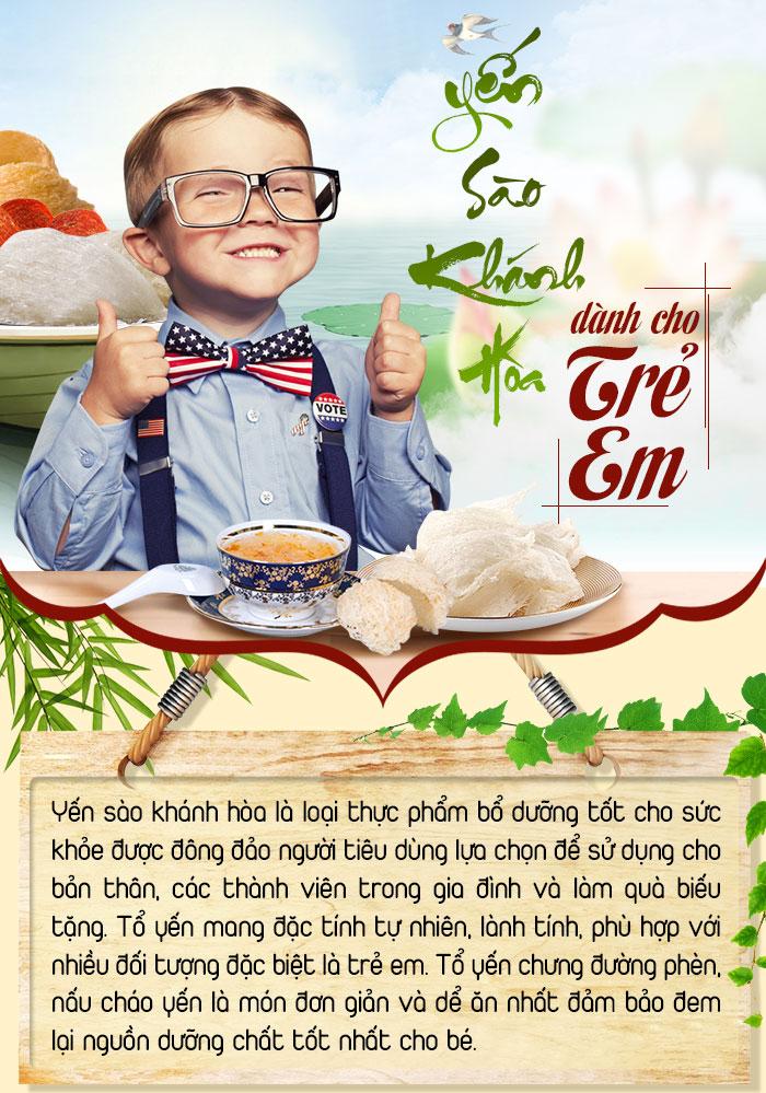 Giới thiệu về yến sào phù hợp cho trẻ - sơ chế làm sạch tổ yến trước khi chế biến – một số món ăn từ yến cho trẻ - sản phẩm yến sào dành cho bé
