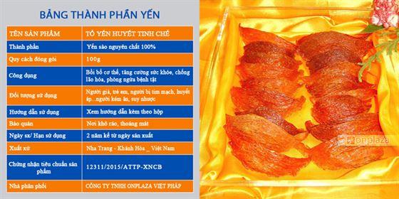 to-yen-huyet-tinh-che