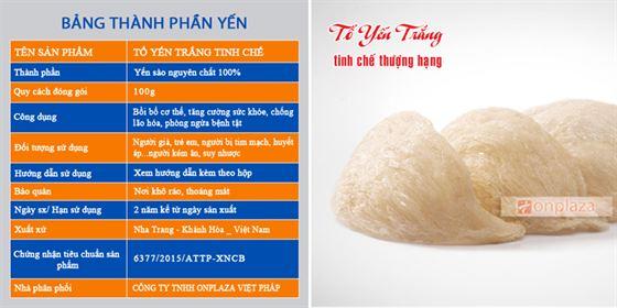 yen-trang-tinh-che-thuong-hang-100g