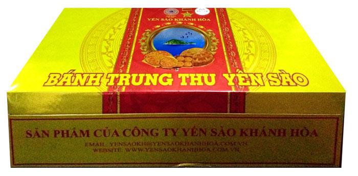 Bánh trung thu yến sào Khánh Hòa Sanest 4 chiếc 1