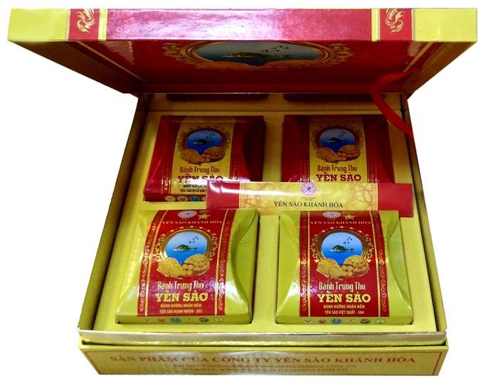 Bánh trung thu yến sào Khánh Hòa Sanest 4 chiếc 2