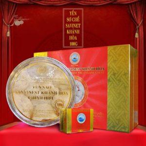 Yến sào sơ chế cao cấp 100 g Savinest Khánh Hòa Y041
