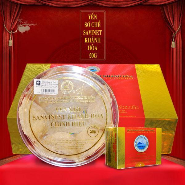 Yến sào sơ chế Sanvinet Khánh Hòa (hộp 50g) Y146